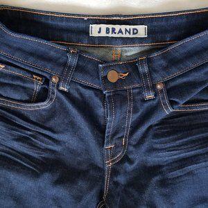 J Brand Women's Blue Denim Jeans Size 27 7014 Ink